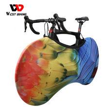 Funda protectora para bicicleta de montaña o carretera, funda protectora antipolvo para marco de ruedas, bolsa de almacenamiento a prueba de arañazos, accesorios para bicicleta