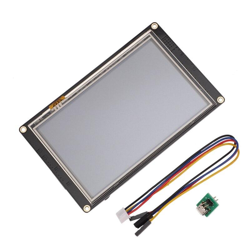 NX8048K050 5.0 Inch Nextion Enhanced HMI Intelligent Smart USART UART Serial Press TFT LCD Module Display Panel for Raspberry Pi