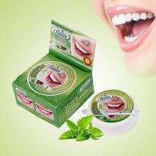 Травяной натуральный травяной Таиланд зубная паста отбеливание зубов Зубная паста удаление пятен Антибактериальная аллергическая зубная паста
