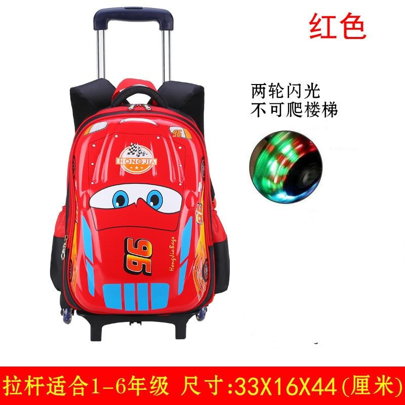 Mochila para niños, mochila escolar para niños, mochila impermeable de alta calidad para la escuela, ropa de mochila resistente a la carga, bolso con ruedas para niños - 5