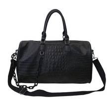 Travel Duffle Handbag Shoulder-Bag Large-Capacity Vintage Men's Luxury New Outdoor Casual