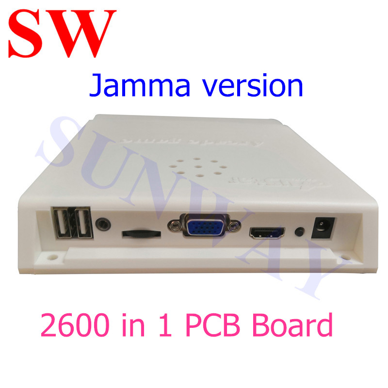 JAMMA version 9S Multi Board/2600 in 1 Games board with 10PCS 3D games+2590PCS 2D gams for Jamma Arcade Cabinet Game Machine image