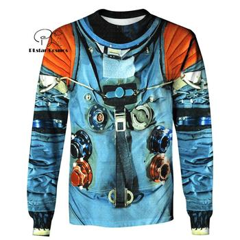 Armstrong Astronaut  Space Suite All Over the Print Hoodie 1