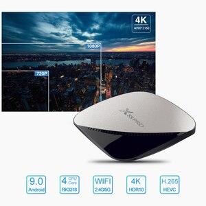 Image 4 - X88 PRO Android 9.0 Smart TV Box 4G 64G Rockchip RK3318 Octa Core 5G Wifi 4K HD Set Top Box Google Truyền Thông YouTube X88PRO