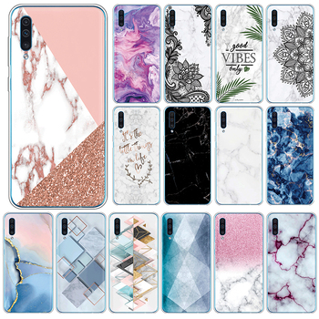 Marble TPU Case For Samsung Galaxy A50 A30s A50s Silicone Cover For SamsungGalaxy A 50 A 30s A 50s 6.4 Phone Cases Fundas Coque image