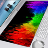 RAZERR Mouse Pad Gaming Accessories Computer XXL Large 900x400 Mousepad Gamer Rubber Carpet With Backlit Play CS GO LOL Desk Mat