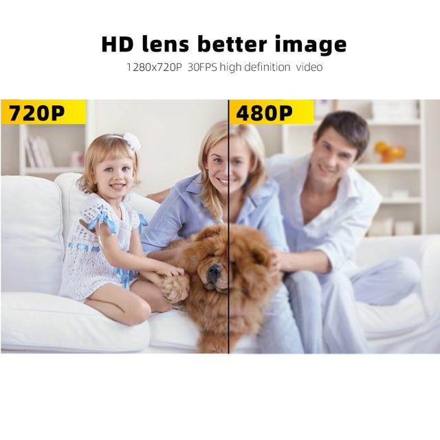 SDETER Mini Camera HD 720P Camera Camcorders Sport DV IR Night Vision Motion Detection Small Camcorder DVR Video Recorder  Cam 5