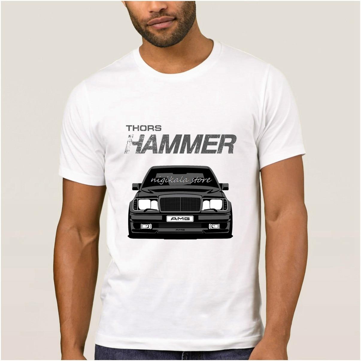 La Maxpa Breathable Mercedes Men T Shirt Thor's Mighty Hammer Tee Shirt Hispter T-shirt Men Large O Neck Tshirt For Men