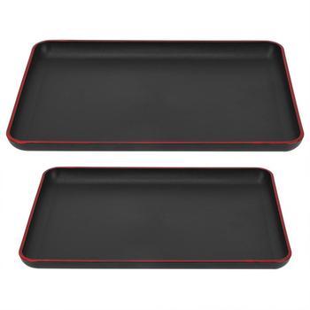 Сервировочный поднос для десертов, прямоугольный поднос в японском стиле, поднос для сервировки еды для ресторана, Домашний Настольный поднос для хранения мелочей