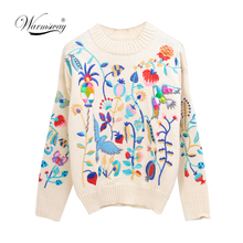 retro Women sweaters blusas