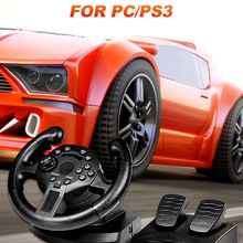 Racing-Wheels Volante Ps3 Gaming Computer Pedals Sim Pc for with Ruedas