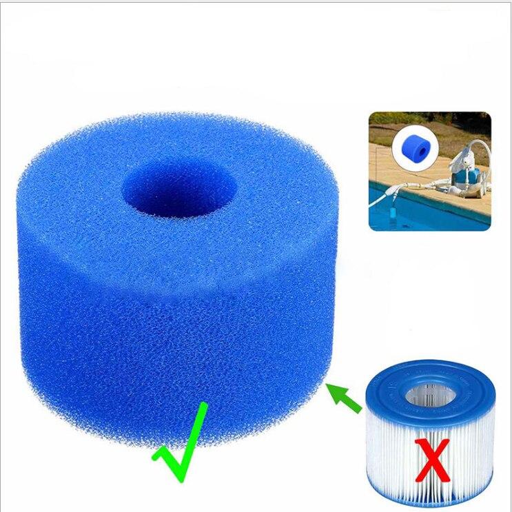 TTLIFE Lay In Clean Spa Hot Tub S1 Washable Bio Foam VI LAZY 'Z Type Filter' Bathroom Sink & Bathtub Accessories Drain Strainers