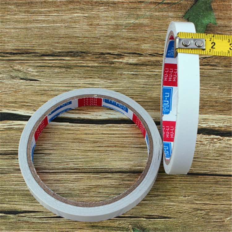 F028 Double-Sided Adhesive White Dollar Store Stall Supply Of Goods Hot Selling 2 Yuan Shop Supply Of Goods Daily Use The Depart