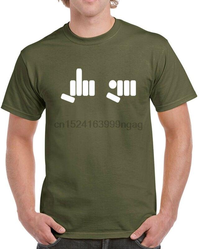 093 FU hand Symbol mens T-shirt middle finger rude vulgar cool curse vintage new