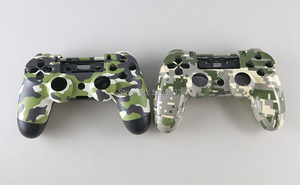 Image 4 - FOR PS4 JDS 001 011 Full Housing Controller Shell Case Cover Mod Kit button For Playstation 4 PS4 V1 Replacement Camouflage Camo