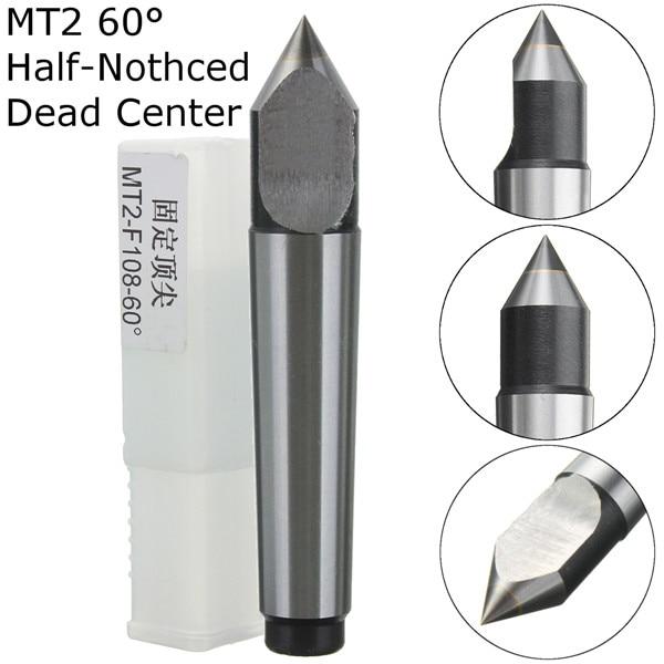 MT1 Solid Dead Center 60° Steel Morse Taper #1 Center For Lathe Tool