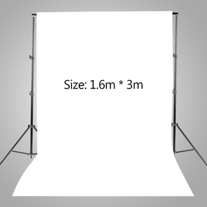 Image 3 - Studio ảnh Bộ Bộ Giá Đỡ Phông Nền với Túi Lưu Trữ Đen Trắng Không Dệt Phông Nền và Mini Kẹp phụ kiện cho Máy ảnh