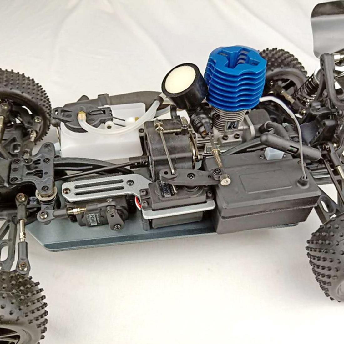 FC 18 Тяговый стартер двигателя 2.95cc двигатель для 1/10 метанола топлива RC модель автомобиля (с свечей зажигания) обучающая игрушка подарок для д... - 6
