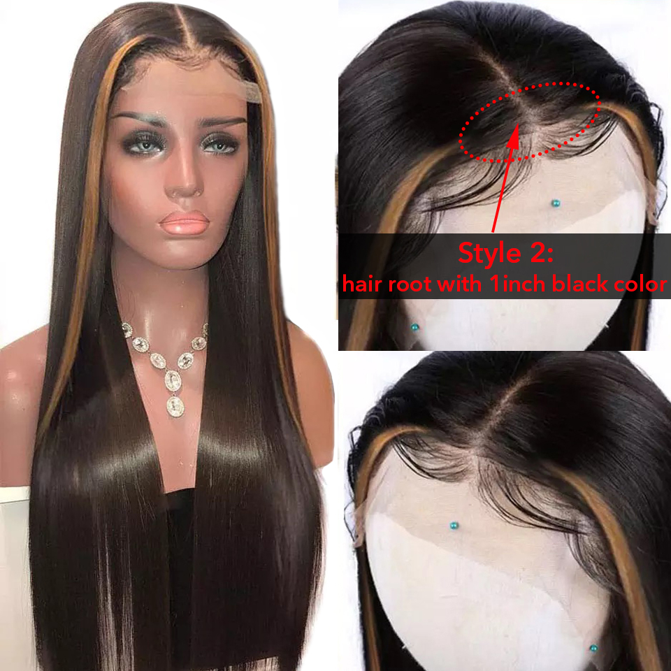 Highlight 1b 27 Colored Brazilian Lace Front