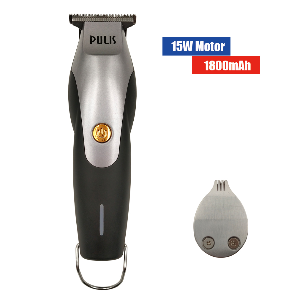 PULIS Hair Clipper With Extra Modelling Blade Professional 1800mAh Rechargeable Electric Hair Trimmer Home Barber Hairstyle Tool