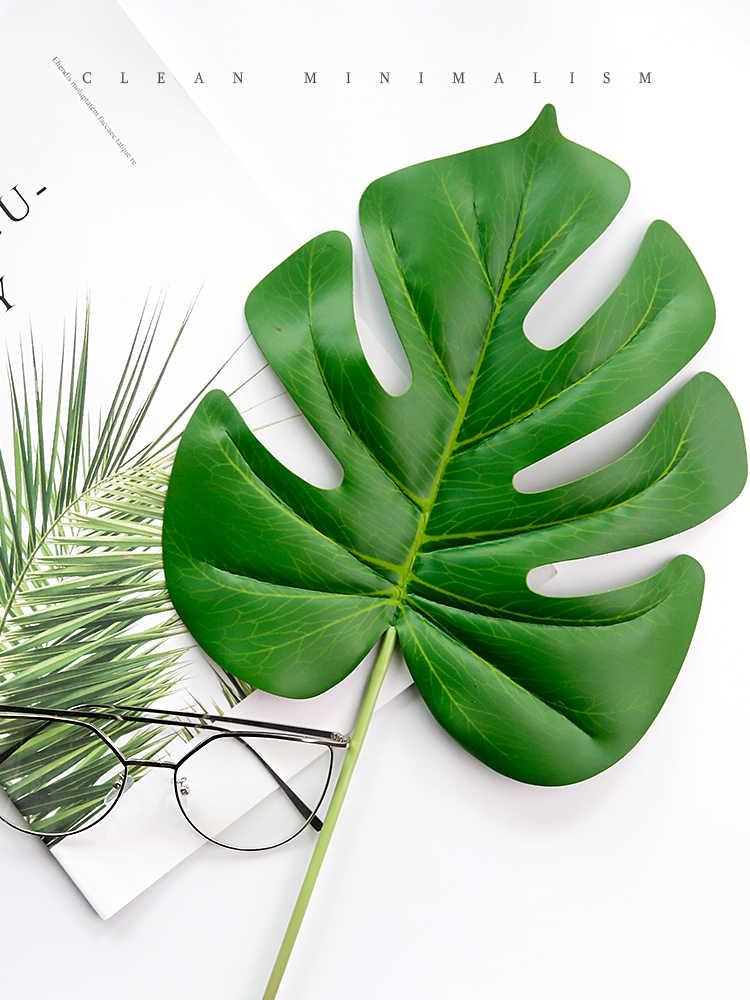 19 различных стилей имитации листьев поддельные листья растений для фотографии аксессуары для фона студийные фоны для съемки реквизит