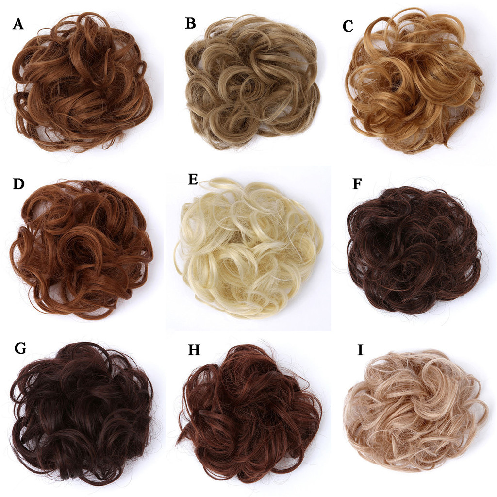 Парики из синтетических волос # y30, круглые кудрявые эластичные женские волосы для наращивания волос, аксессуар для хвоста