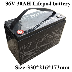Image 1 - 36V 30Ah LiFepo4 Battery Pack for Wheelchair Electric Scooter Solar Energy Sotrage Electric Motorcycle SLA Replacement+5A Charge