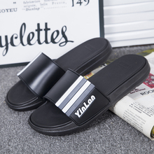 Men Summer Slippers Home Soft Breathable Flat Slides Non-slip Unisex Indoor Bathroom Slippers Comfy Sandals Beach Water Shoes 2019 slippers men shoes slides men summer flat bathroom slippers comfortable rubber soft stripes casual beach slippers sorrynam