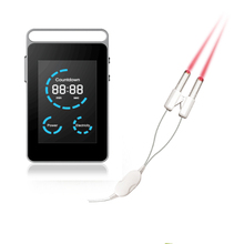New LLLT Laser device Acupuncture Stimulator 650nm Therapy Diabetes Varicose Veins Blood Clean