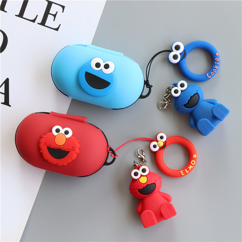 Cartoon Anime Sesame Street Silicone Cover For Samsung Galaxy Buds 2019 Case Charging Sleeve Wireless Headphone Protective Case Earphone Accessories Aliexpress Check out our galaxy buds case selection for the very best in unique or custom, handmade pieces from our phone cases shops. cartoon anime sesame street silicone cover for samsung galaxy buds 2019 case charging sleeve wireless headphone protective case