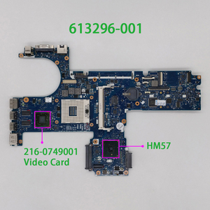 for HP ProBook 6450b 6550b 613296-001 HM57 w Video Card PC Laptop Notebook Motherboard Mainboard