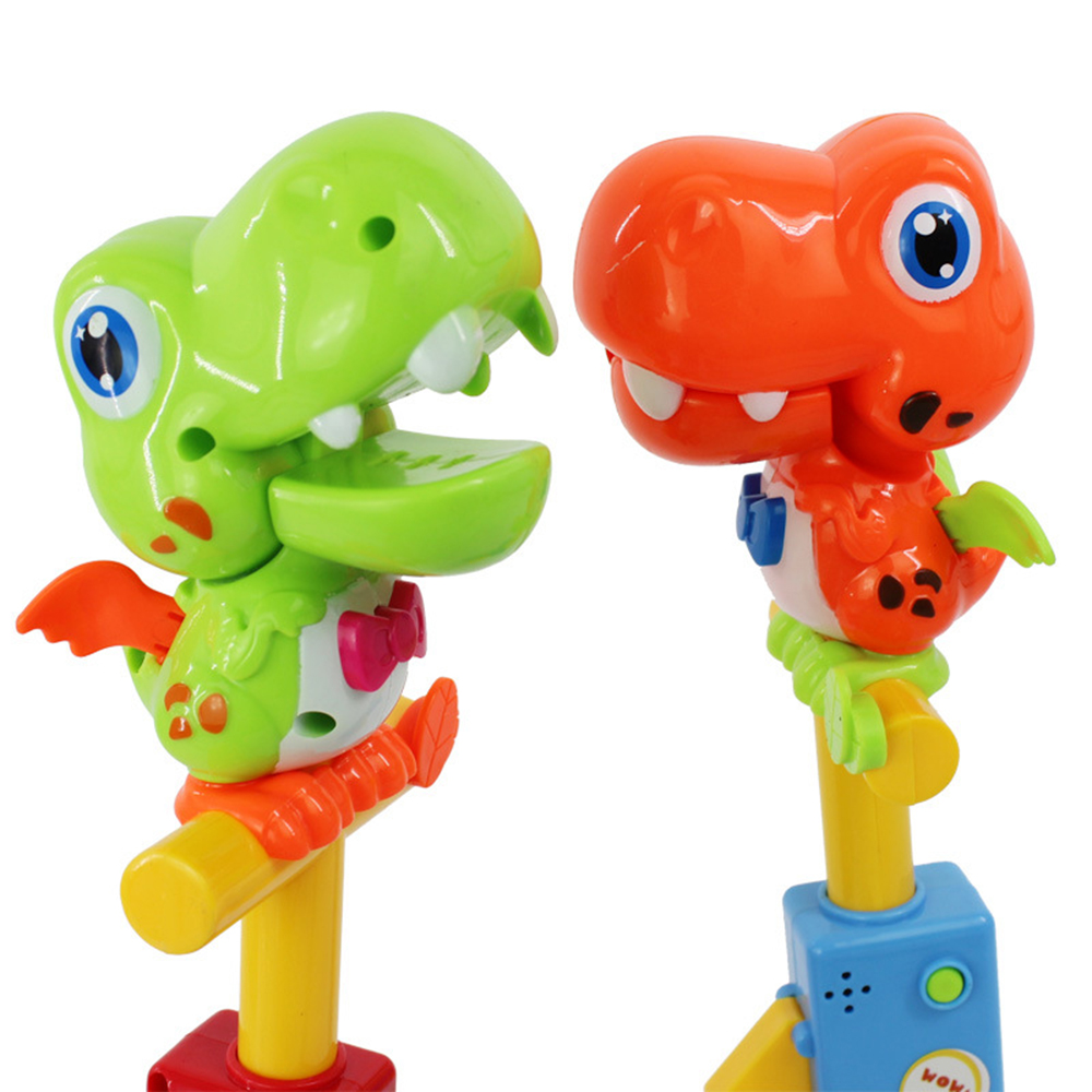 Talking Toucan Impersonators Toy Recording Dinosaur Designs Audio Recording Animal Frog Induction Voice Control Toys For Kid