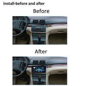 "Image 4 - Bosion Android 10.0 Do Carro DVD GPS Navi Multimedia Player para BMW E53 X5 E39 5 97 06 com Wi fi 4G BT RDS Radio 2G ROM 9 ""Full Touch"
