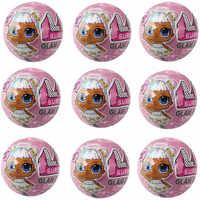 LOL surprise-muñecas originales para niñas, muñecos originales de pelo lol surprise de 4. ª generación, polvos de juguete de Ángel para niñas, regalos de cumpleaños