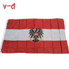 Бесплатная доставка xvggdg Австрийский флаг 90x15 0 см/3x5 футов