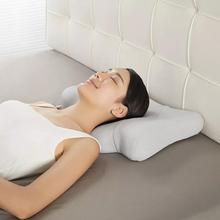 Intelligent Sleep Traction Pillow Improve Sleep Quality Heating Vibration Neck Back Care Relax Lift Massage Pillow