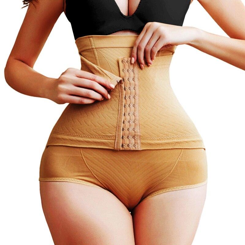 Twinso XS-5XL Sexy Butt Lifter High Waist Trainer Slim Tummy Control Panties Shapewear Body Shaper Pulling Underwear with Hooks