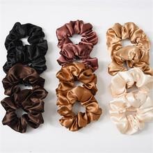 1 шт. женский сплошной цвет отражающий легкие эластичные резинки для волос конский хвост держатель резинки женские аксессуары для волос