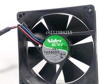 Frete grátis ta350dc C34709-58 dc 12 v 0.50a 3 fios 90x90x25mm servidor ventilador mais frio
