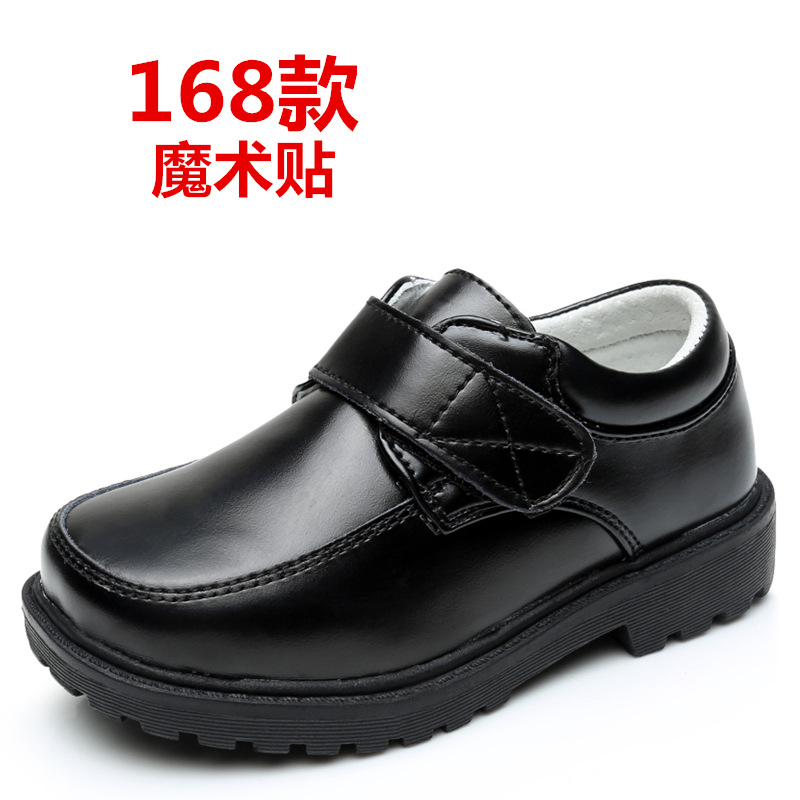 2019 3-5 10 15 Yearsboys Shoes For School Black Party Shoes For Kids Autumn Fashion Genuine Leather Dance Children Teens Shoe