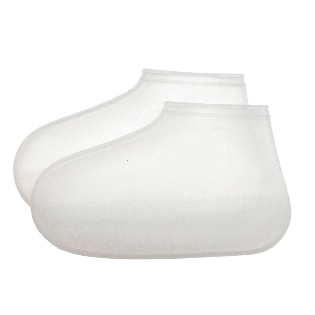 Bota de silicone reutilizável e sapato cobre