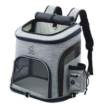 Dog Bag Breathable Backpack Large Capacity Cat Carrying Portable Outdoor Travel Pet Carrier L