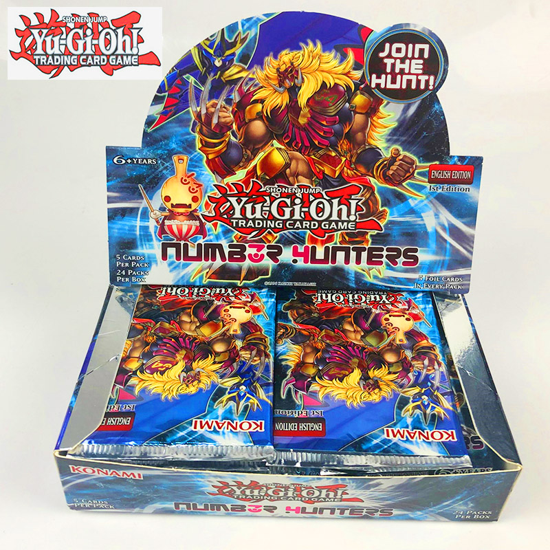 Yu Gi Oh European Edition Tcg English No. Hunter Bag Original Box Specials Full Flash Game Card Classic Card Collection Card