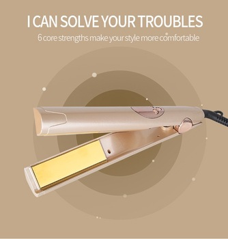Combination Of Straight And Curling Styling Tools Hair Curling Iron Straightening Machine Hair  Styler Curls Hair Curler 2020 new mini curls hair straightening iron pink ceramic curling iron corrugate hair iron styling tools volume hair curler eu