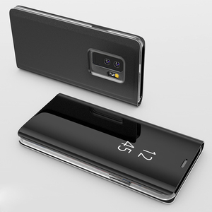 Image 4 - Smart Mirror Flip Case For Samsung Galaxy Note 10 9 8 S10 S9 S8 Plus S7 A9 A7 A8 2018 A10 A20 A30 A50 A60 A80 A70 M10 A20E Cover