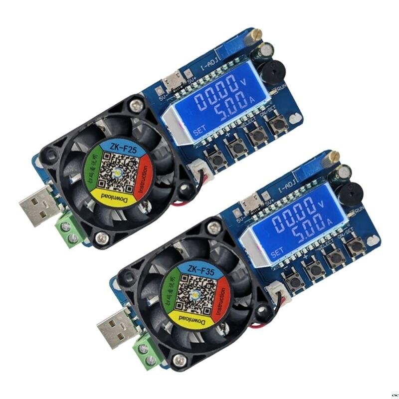 Verificador atual constante da capacidade da bateria do verificador 35 w da carga eletrônica usb