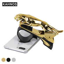 Car-Accessories Gps-Holder Car-Phone-Stand Supportor Mobile-Phone Leopard Adjustbable