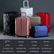 PC Draw-Bar Box Hard-Side Suitcase Aluminum Frame Travel 29-Inch Check-in Suitcase Universal Wheel Luggage Boarding Bag