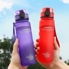 UZSPACE – bouteille d'eau Sport pour boisson directe ou paille, infuseur à fruits 500ml, Gourde Portable étanche, en plastique sans BPA