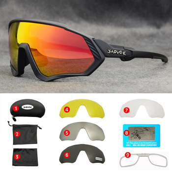 Cycling Glasses MTB Bike Glasses Eyewear Running Fishing Sports Polarized Bicicleta Cilismo Lentes C